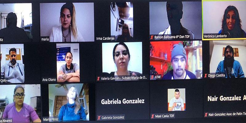 El Foro Argentino de la Mujer en el Deporte conformó la Mesa Federal de Tierra del Fuego